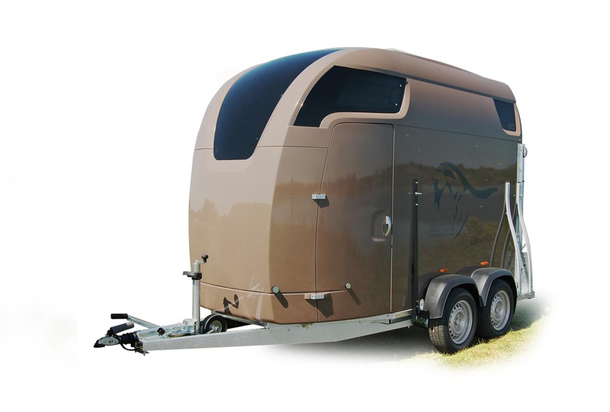 Sirius Trailers paardentrailer S75 wood hout sterk ruimte functioneel