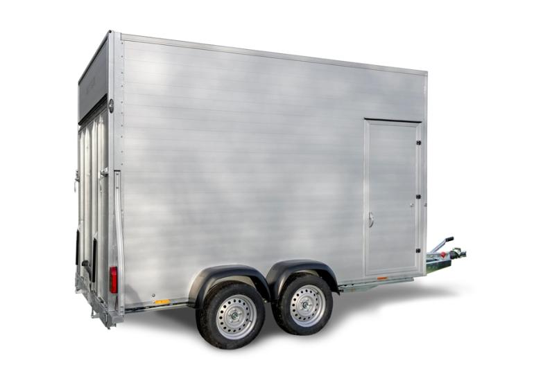 Kargo Trailer Remorques fourgon double essieu G305 aluminium / G375 aluminium