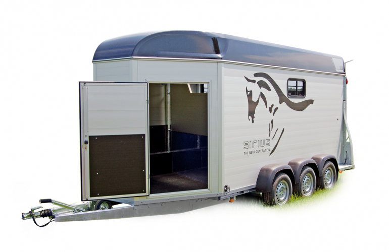 Sirius S71 Aluminium for 3 or 4 Icelandic horses