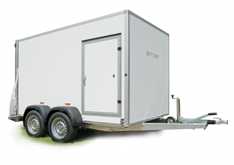 Kargo Trailer Remorques fourgon double essieu G305 G375