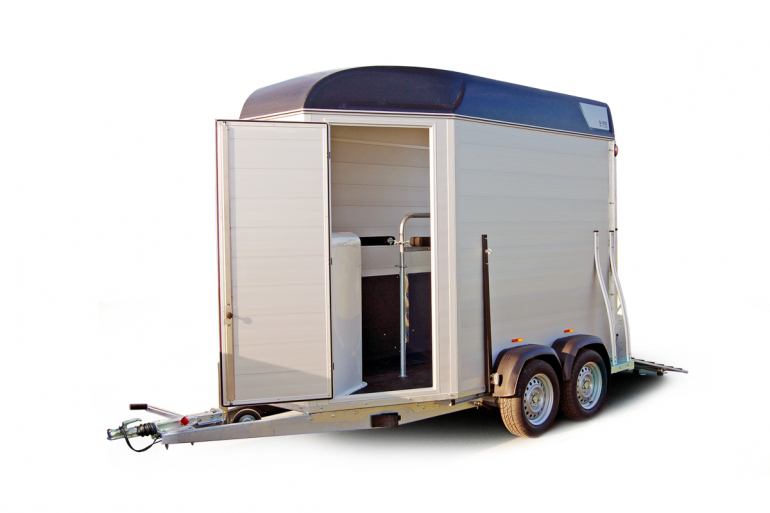 Sirius S80 horsetrailer aluminium high sidewalls ideal unlimited space