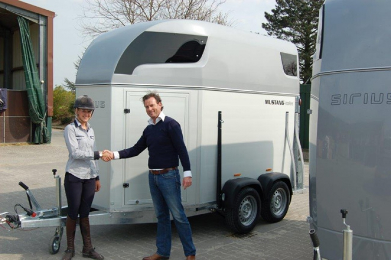 Sirius Trailers delivers trailers to Stable Ehning